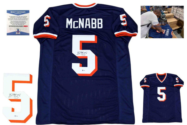 Donovan McNabb Autographed Signed Jersey