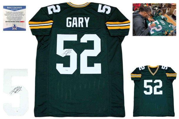 Rashan Gary Autographed Signed Jersey - Green