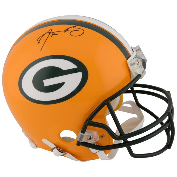 Aaron Rodgers Autographed Signed Authentic Helmet