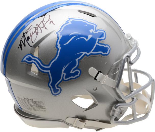 Matt Stafford Autographed Signed Authentic Speed Helmet