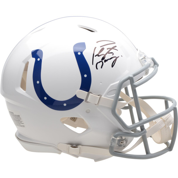 Indianapolis Colts Peyton Manning Autographed Signed Speed Helmet