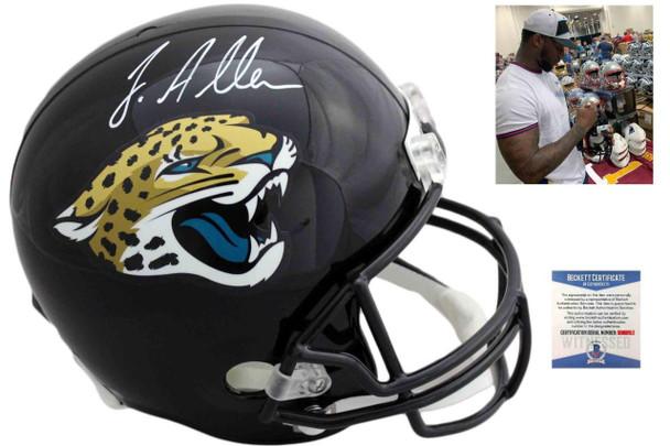 Jacksonville Jaguars Josh Allen Autographed Signed Speed Helmet
