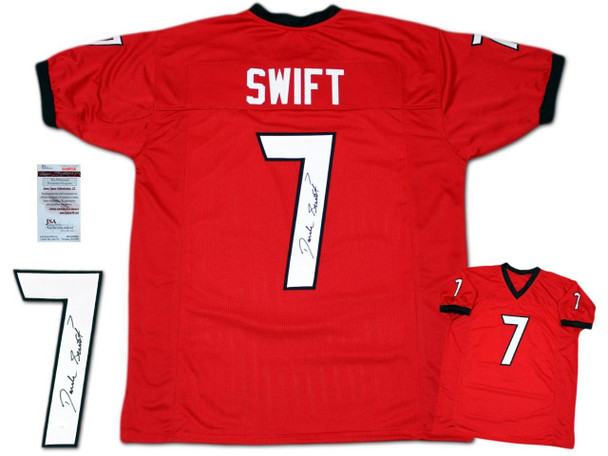 D'Andre Swift Autographed Signed Jersey