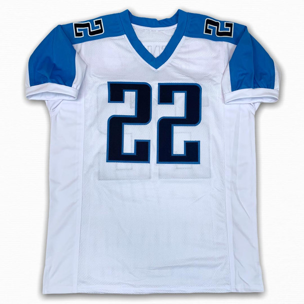 Derrick Henry Autographed Signed Jersey - White - Beckett Authentic