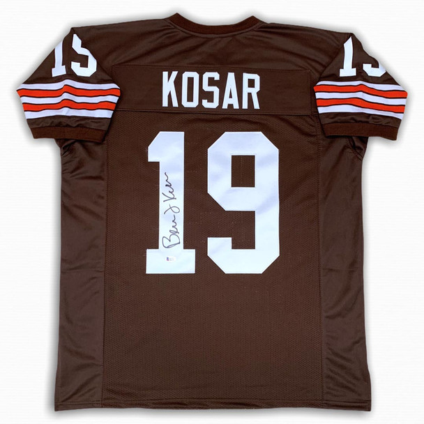 Bernie Kosar Autographed Signed Jersey - Brown - Beckett Witnessed