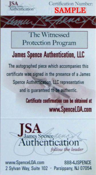 Justin Fields Autographed Signed Jersey - Navy - JSA Authentic