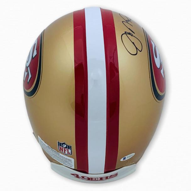 49ers Joe Montana Autographed Signed Authentic Helmet - Beckett