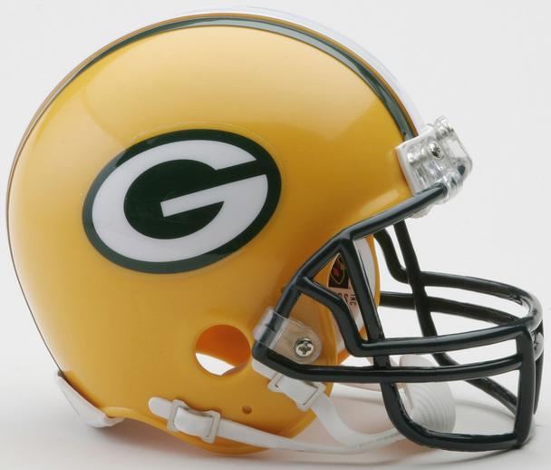 Green Bay Packers NFL Mini Football Helmet