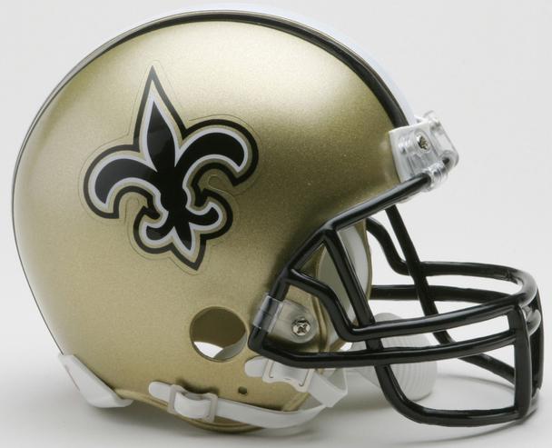 New Orleans Saints NFL Mini Football Helmet