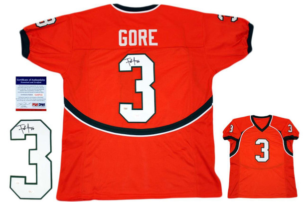 new products 67a56 91deb Frank Gore Signed Jersey - PSA DNA - Miami Hurricanes Autographed