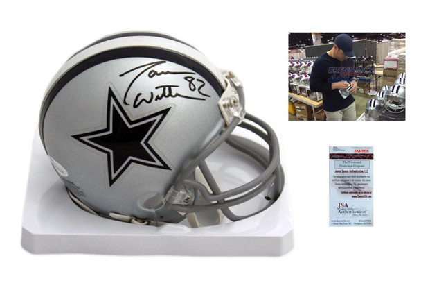 sale retailer 17e94 8a15f Jason Witten Autographed Signed Dallas Cowboys Mini-Helmet - JSA