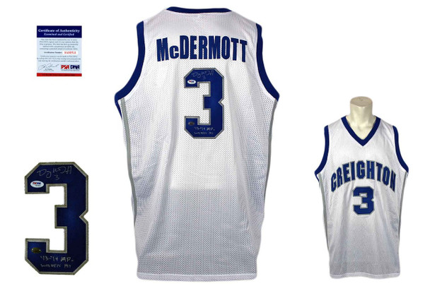 Doug McDermott Signed Jersey - PSA DNA - Creighton Blue Jays Autographed