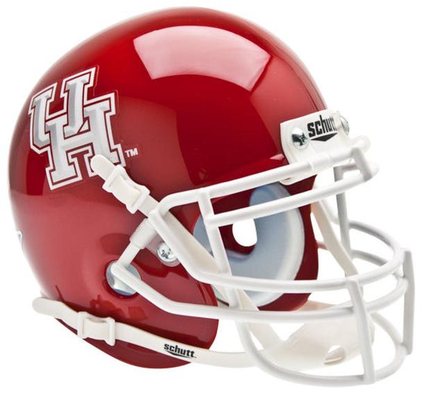 Houston Cougars Mini Speed Football Helmet