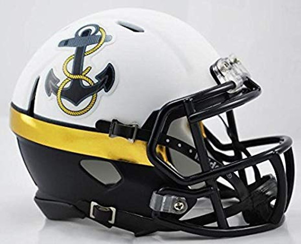 Navy Midshipmen Mini Speed Football Helmet