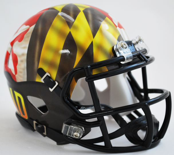Maryland Terrapins Mini Speed Football Helmet