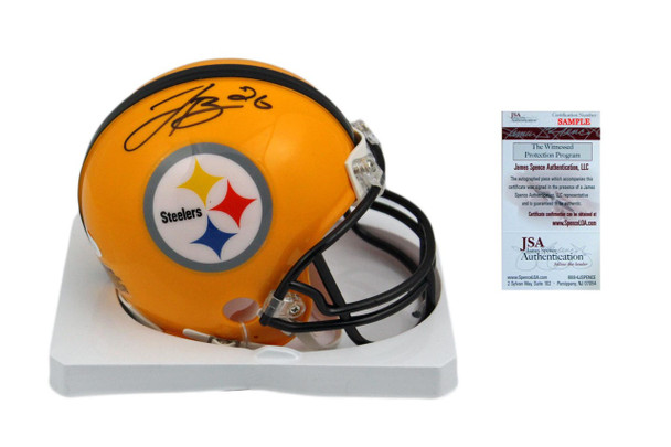 Leveon Bell Autographed Signed Steelers Throwback Mini Helmet