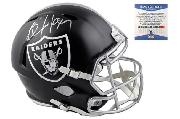 Bo Jackson Autographed Autographed Oakland Raiders Blaze Speed Helmet