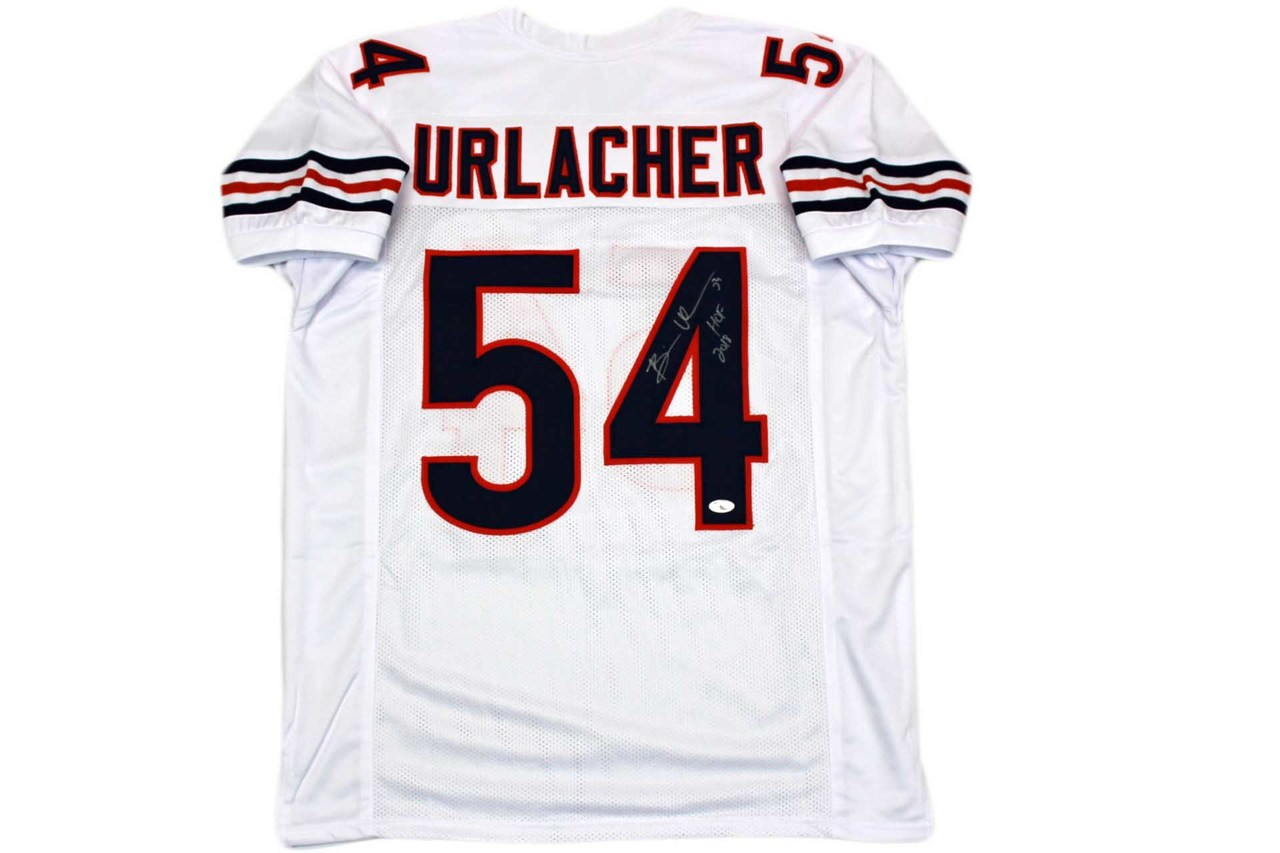 new arrival e9c21 a927e Brian Urlacher Autographed Jersey - White - Beckett Authentic