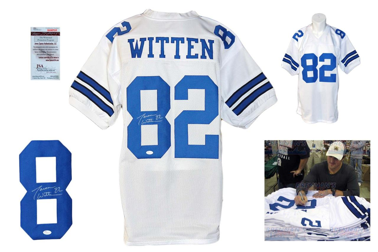 newest 420cd f2fb7 Jason Witten Autographed Signed Jersey - JSA Witnessed - White