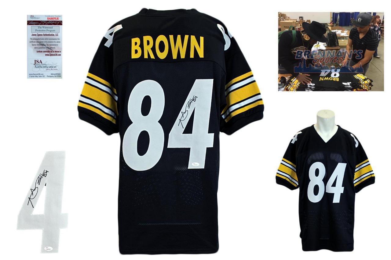 5569ccdff44 Antonio Brown Signed Jersey - JSA Witness - Pittsburgh Steelers Autographed