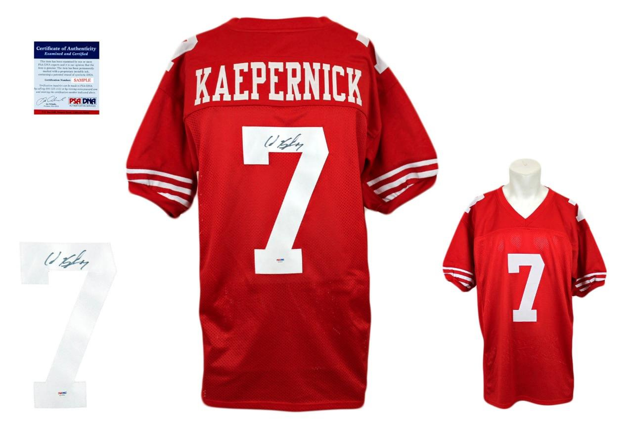 db8cdb64c Colin Kaepernick Signed Jersey - PSA DNA - San Francisco 49ers Autographed  ...