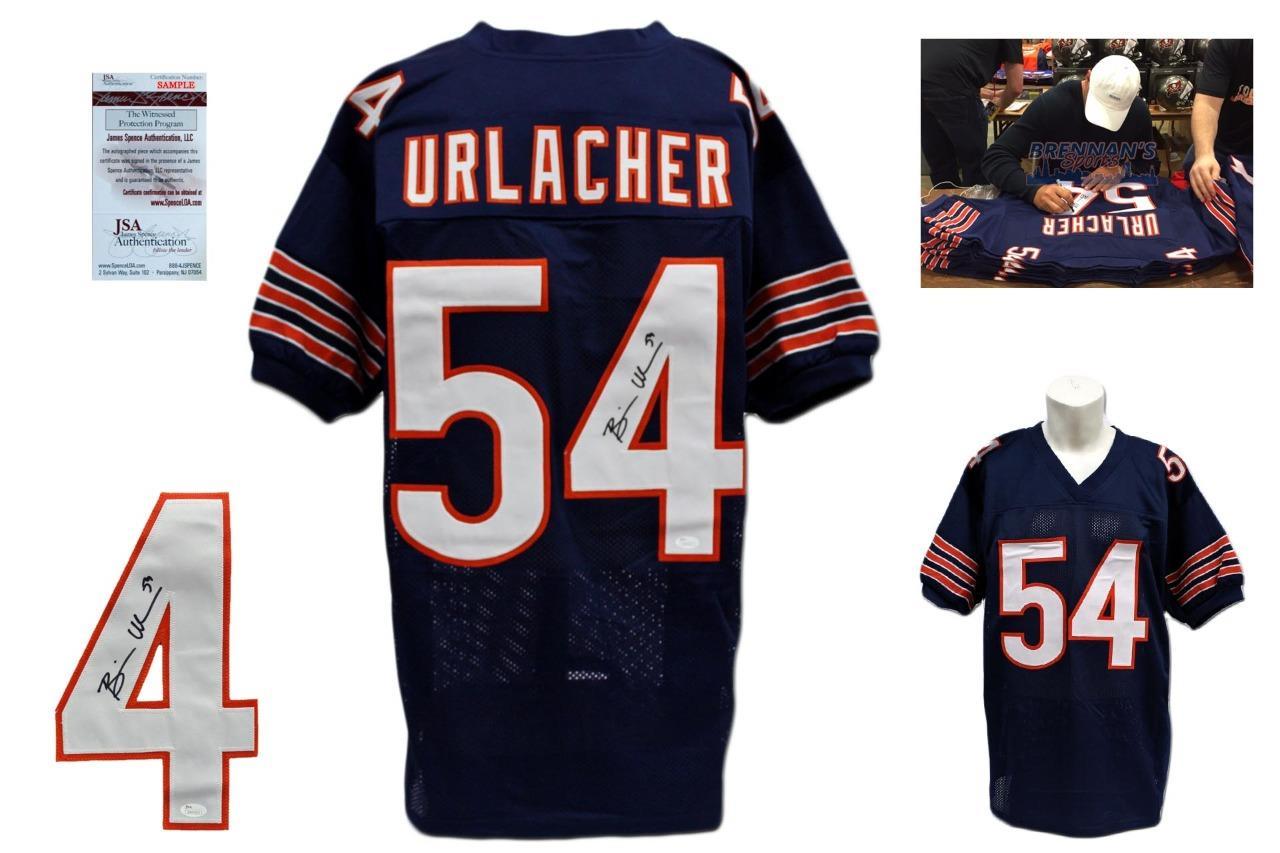 Brian Urlacher Signed Jersey - JSA Witness - Chicago Bears Autographed -  Navy ... 8d64735cd