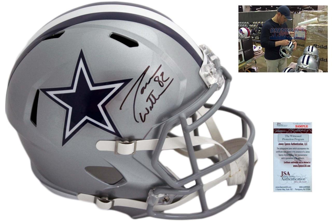 best loved 54a2a 55866 Jason Witten Autographed Dallas Cowboys Full Size Speed Helmet - JSA