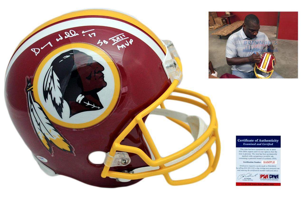 Doug Williams Autographed Signed Washington Redskins Full Size Rep Helmet -  PSA