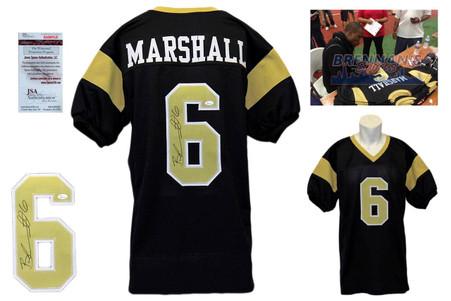 Brandon Marshall Signed Jersey - UCF Black Knights Autographed - JSA Witness