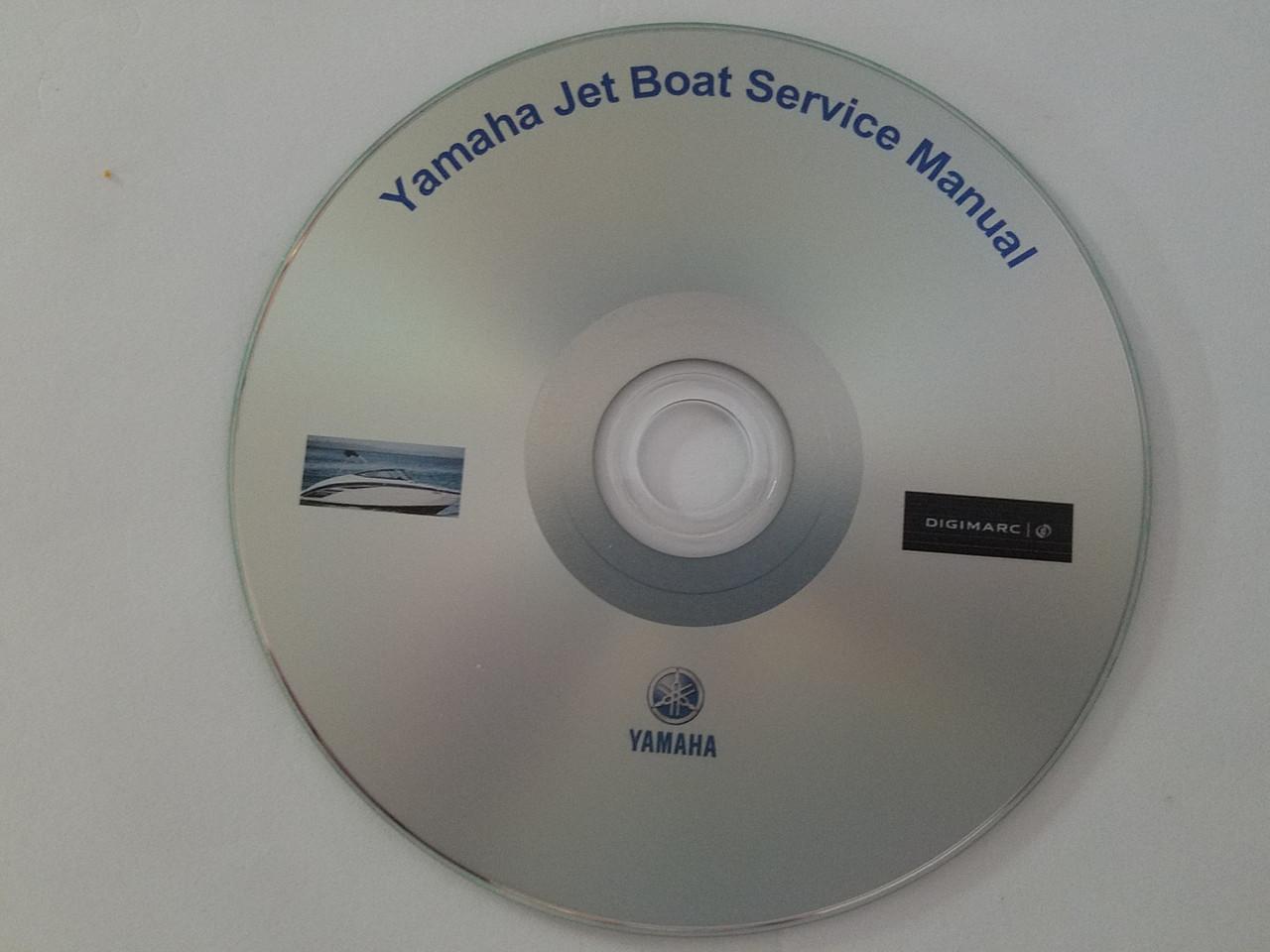 Yamaha Jet Boat Manuals