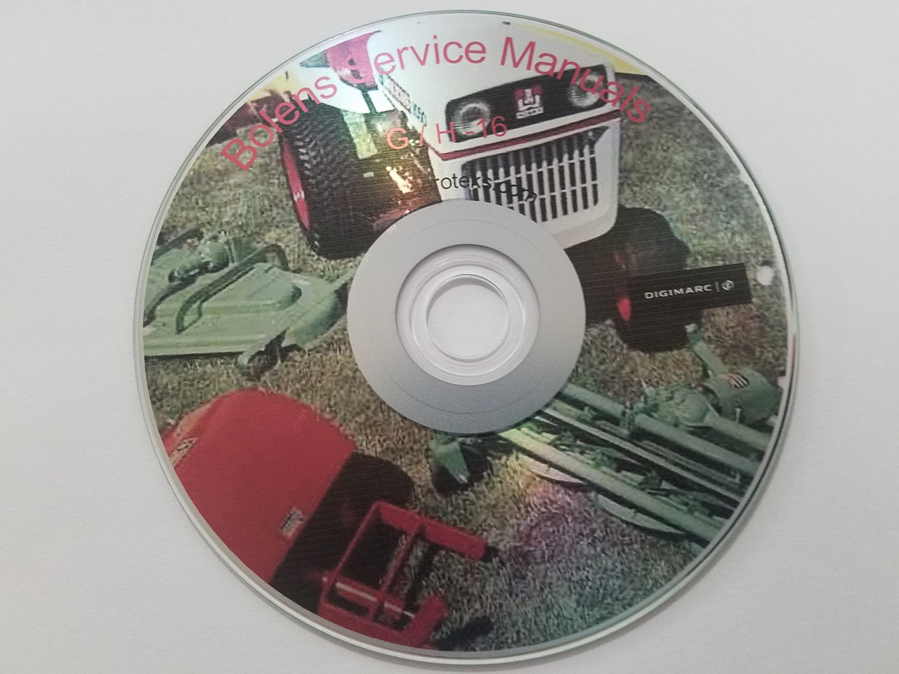 Tractor service  manuals