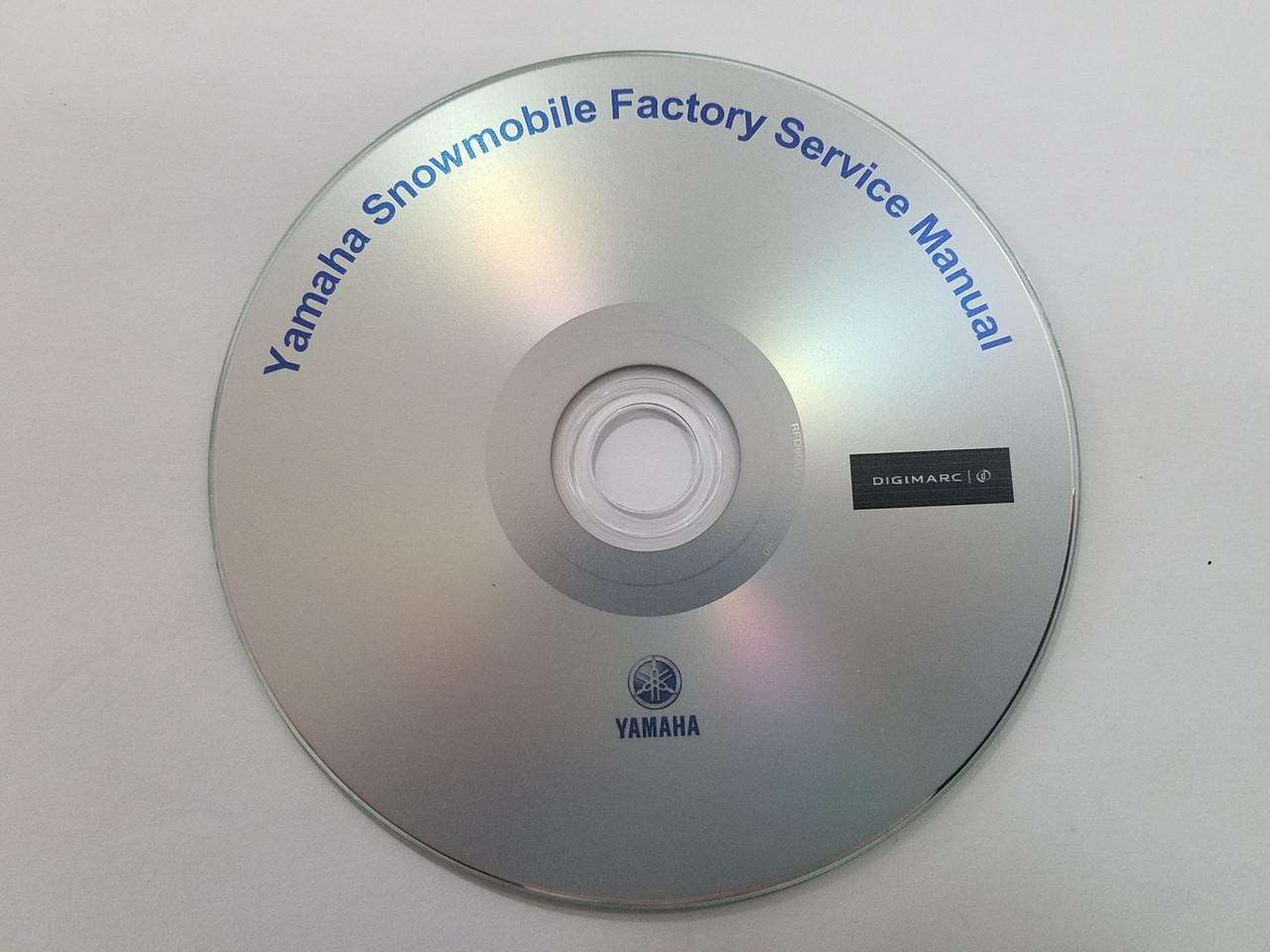 2010 Yamaha Snowmobile Service Manuals