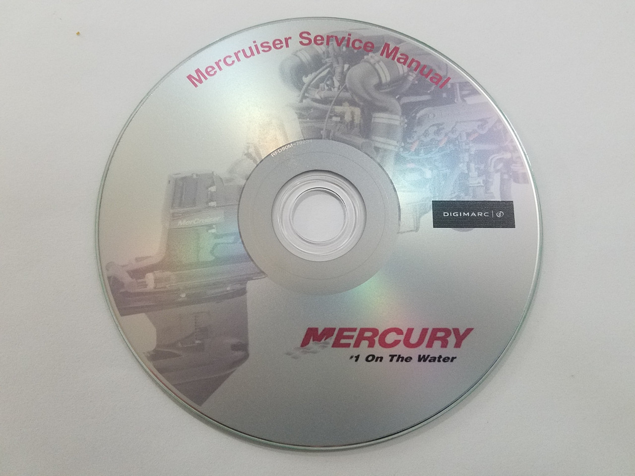 Mercruiser stern drive service manuals