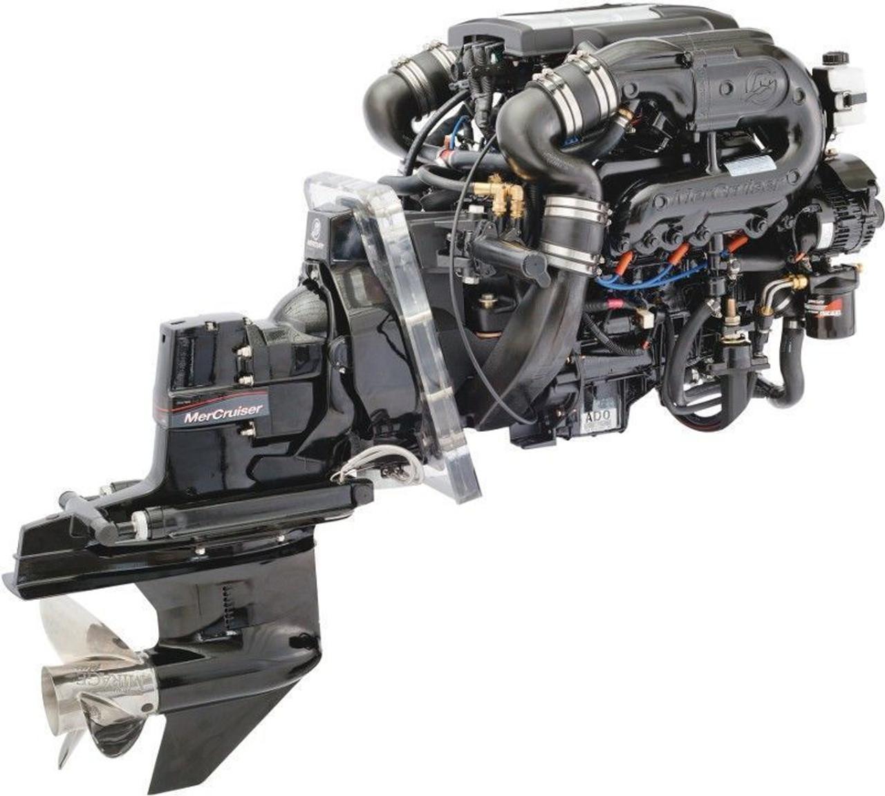 Mercruiser engines factory service manual #23 GM V8 7 4L 8 2L Gen VI 454 502