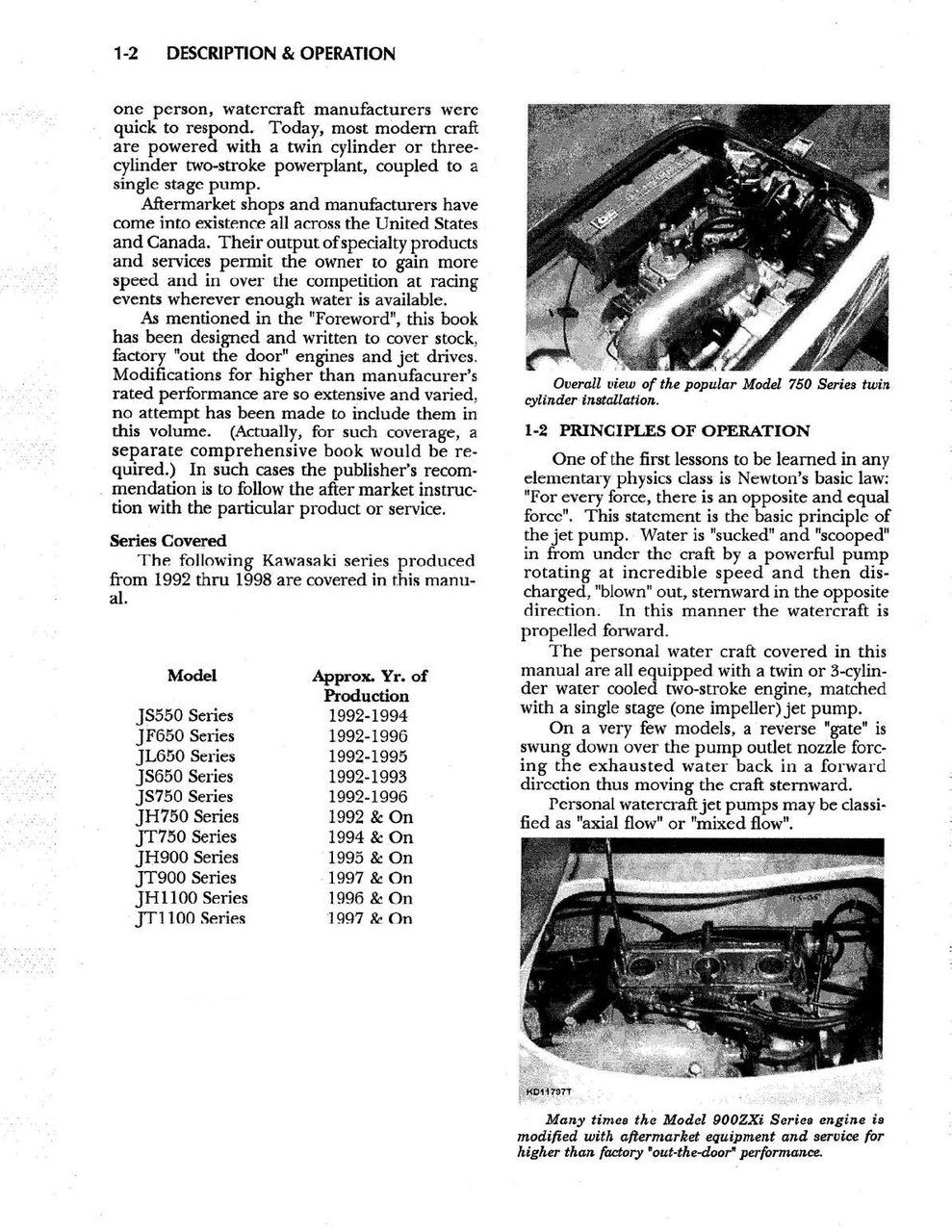 Kawasaki Jet Ski Service Manual Jf Js Jl Jh Jt
