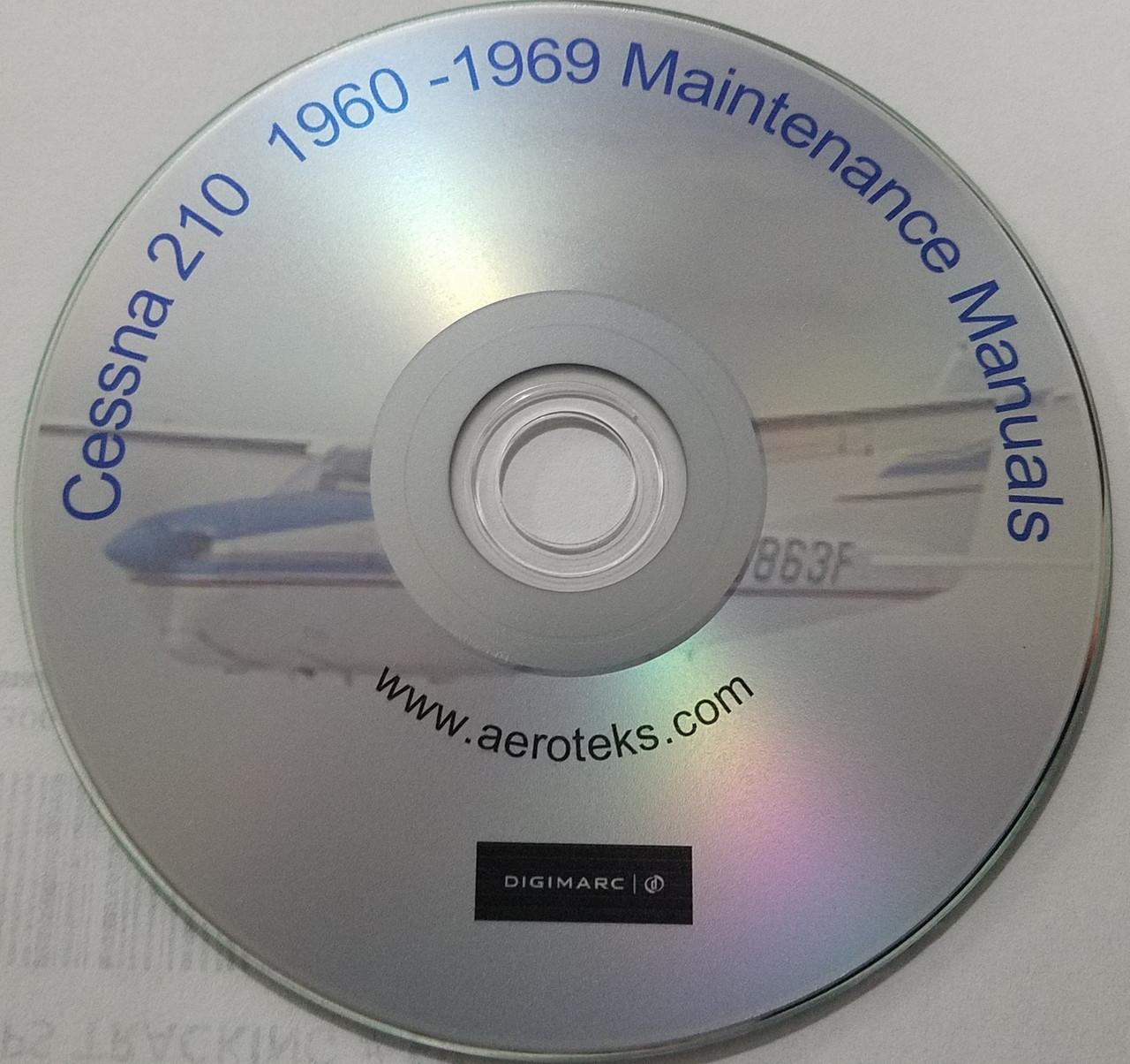 Cessna Aircraft Maintenance Service manuals