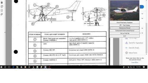Cessna P210 maintenance service manual set + engine 1985 - 1986