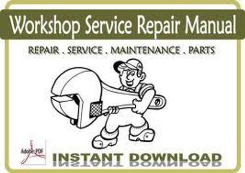 Wheel Horse tractor service repair shop factory manual B C & D series download