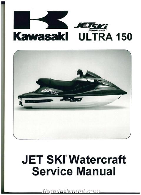 Kawasaki Ultra 150  jet ski  pwc  service repair manual