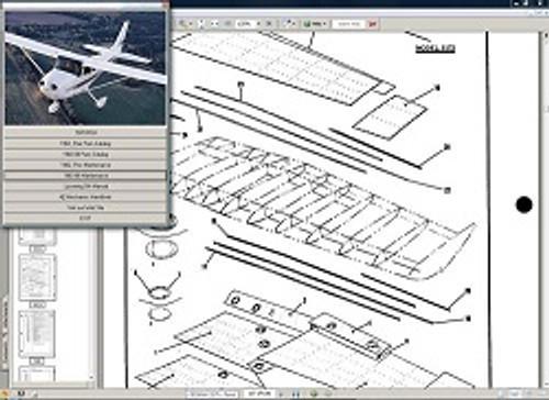 Cessna 172 & Skyhawk service maintenance manual  1977 - 1986