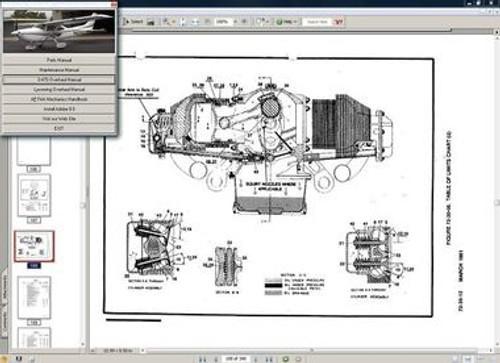 Cessna 182 service maintenance manual 1977 - 1986