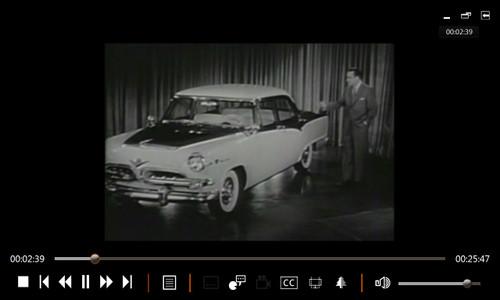 Dodge Mopar rare vintage TV commercials 1953 - 1970 Charger Challenger Cuda DVD