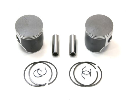 This is a piston set for the 377 UL engine  This set exceeds the MFGs specs , These are available in both moly coated. We run em in our trikes and use them in our shop for the past 11+ years This is set is for 62 mm bore 377 rotax Rotax 377 pistons, rotax 377 top end, 377 gaskets. 377 aircraft engine top end kit, rotax pistons, rotax overhaul