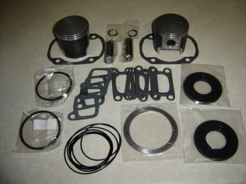 "Rotax 503 .020"" oversize moly coated piston and gasket kit for ultralight aircraft engine"