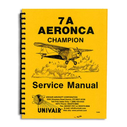 7A Champion maintenance + engine service manuals Champ aircraft