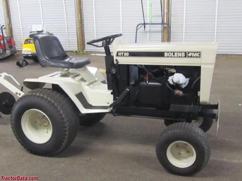 Bolens Husky large frame tractor service manual HT