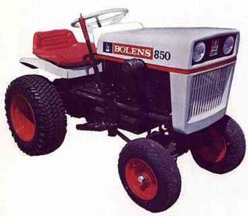 Bolens 1250 tractor manuals service parts owners on CD