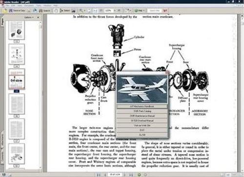 Cessna 421 Service Repair Manual Set   Engine Manuals 1968