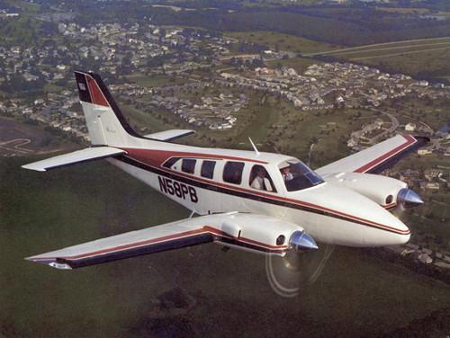Beechcraft Baron aircraft Service  and parts manual library B55 B58 B56