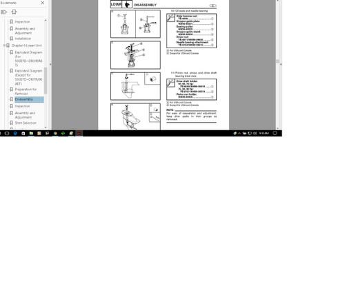 Any single Yamaha outboard motor service manual 1985 - 2013